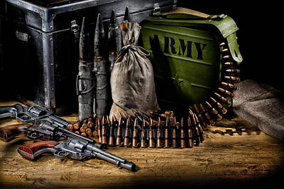 Military Still Life Poster by Andrey Skat