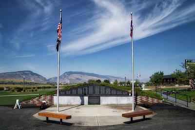 Military Vietnam Memorial Cody Wyoming Poster