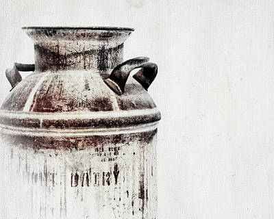 Milk Can Poster by Alison Sherrow I AgedPage
