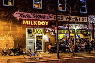 Milkboy - 1033 Poster by David Sutton