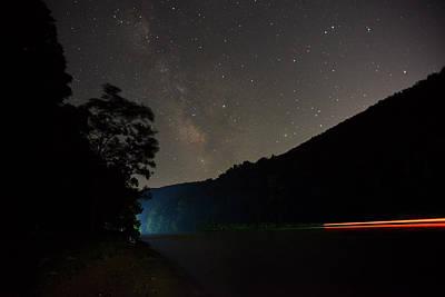 Milky Way At Nigh Time Cheat Lake Poster