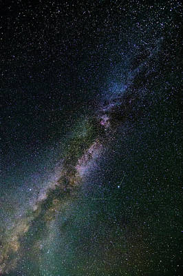Poster featuring the photograph Milky Way Core by Bryan Carter