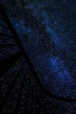 Milky Way Fence Poster