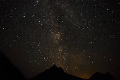 Milky Way, Glacier Nat'l Park Poster