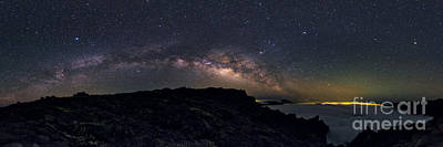 Milky Way Over Canary Islands Poster by Babak Tafreshi