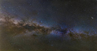Milky Way South Poster