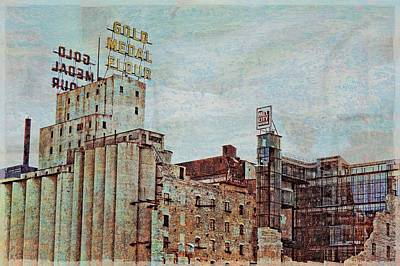 Mill District Minneapolis Poster