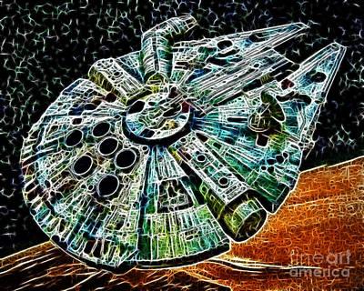 Millenium Falcon Poster