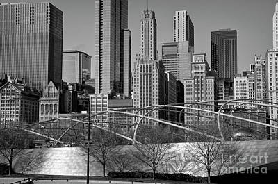 Millennium Park V Visit Www.angeliniphoto.com For More Poster by Mary Angelini
