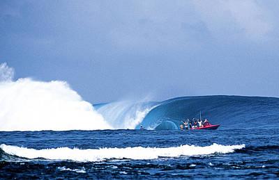 Millennium Wave Poster by Sean Davey