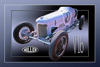 Miller V16 Poster
