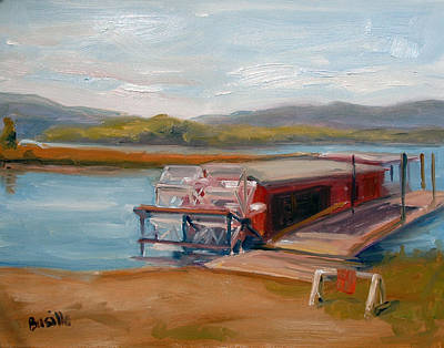 Millersburg Ferry Poster by Kathy Busillo