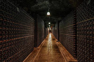 Million Bottle Wine Cellar Poster