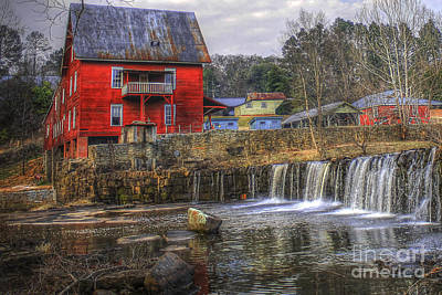 Millmore Or Baxter Mill Gristmill Poster by Reid Callaway