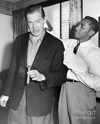 Milton Berle Gets A Hair Cut.1958 Poster