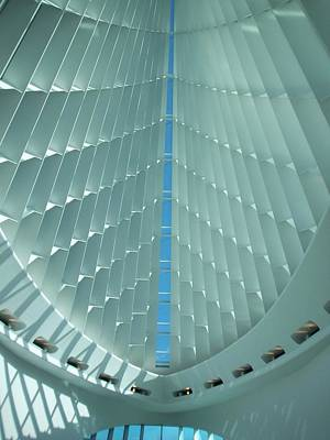 Milwaukee Art Museum Interior Poster by Anita Burgermeister