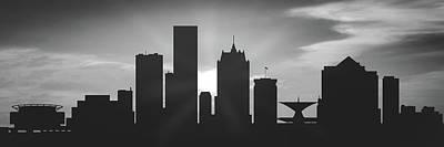 Milwaukee Sunset Uswiml-pa02 Poster
