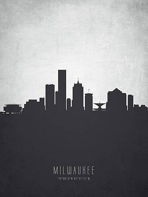 Milwaukee Wisconsin Cityscape 19 Poster