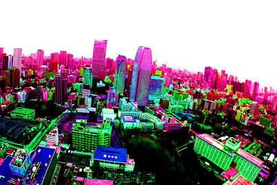 Minato Tokyo Poster by Jera Sky