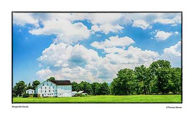 Mingoville Clouds Poster by R Thomas Berner