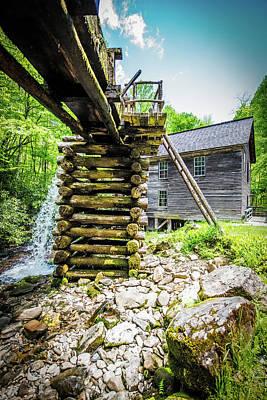 Mingus Mill Overflow Poster by Paul Freidlund