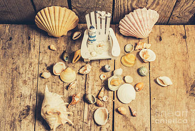 Miniature Sea Escape Poster by Jorgo Photography - Wall Art Gallery
