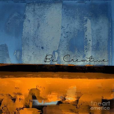Minima - Be Creative 01b- Bo Poster