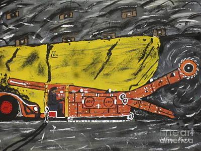 Coal Mining  Poster by Jeffrey Koss