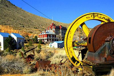 Mining Machinery Poster by Lynn Bawden