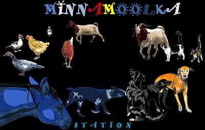 Minnamoolka Station Poster