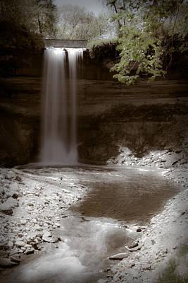 Minnehaha Falls Poster