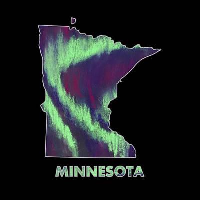 Minnesota - Northern Lights - Aurora Hunters Poster by Anastasiya Malakhova