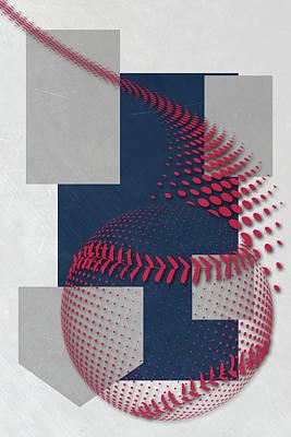 Minnesota Twins Art Poster by Joe Hamilton