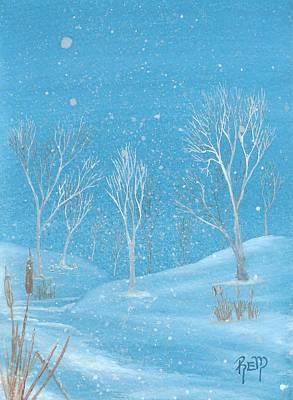 Minnesota Winter... No. Two Poster by Robert Meszaros