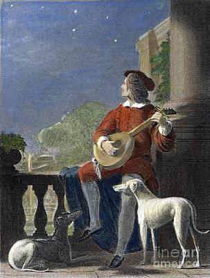 Minstrel, 19th Century Poster by Granger