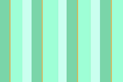 Poster featuring the mixed media Mint Green Stripe Pattern by Christina Rollo