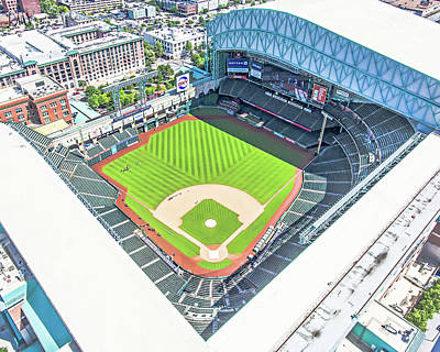 Minute Maid Park Poster