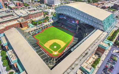 Minute Maid Park Hdr Poster