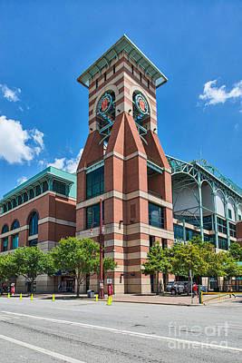 Minute Maid Park Houston Poster