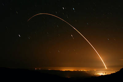 Minuteman IIi Launch April 2 2008 Poster