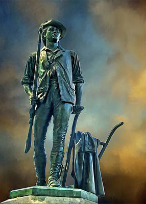 Minuteman Poster by Maria Coulson
