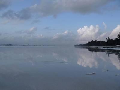 Mirror Ocean Water Poster