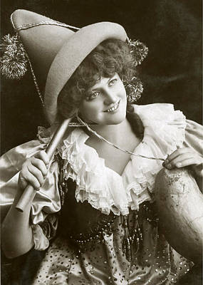 Miss Marie Studholme As Lady Madcap 1905 Poster by Sarah Vernon