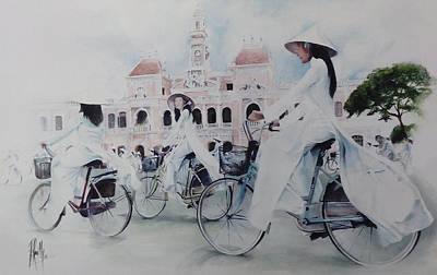 Miss Saigon Poster by Alan Kirkland-Roath