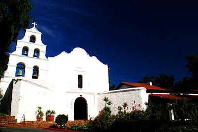 Poster featuring the photograph Mission San Diego De Alcala by Christopher Woods
