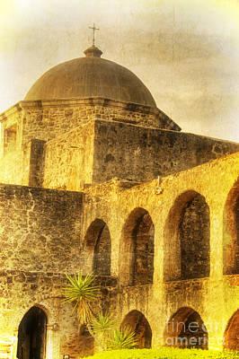 Mission San Jose San Antonio Texas Poster