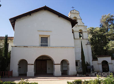 Mission San Juan Bautista Poster by Suzanne Luft