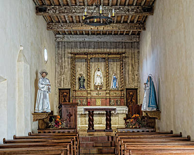 Poster featuring the photograph Mission San Juan Capistrano Sanctuary - San Antonio by Stephen Stookey