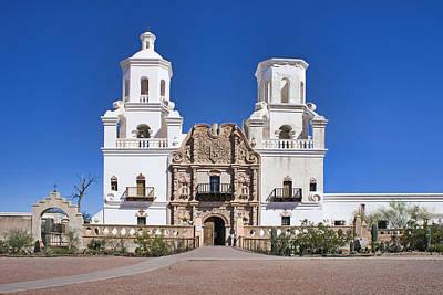 Mission San Xavier Del Bac - Arizona Poster by Nikolyn McDonald