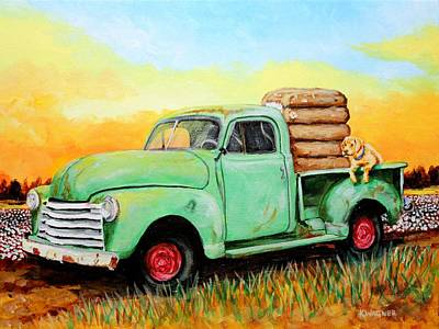 Mississippi Delta Dirt Road Poster by Karl Wagner